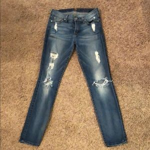 7 For All Mankind ankle denim